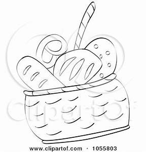 Bread Basket Coloring Pages | www.pixshark.com - Images ...