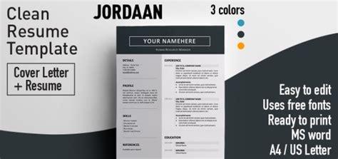 resume templates  colored header rezumeetcom