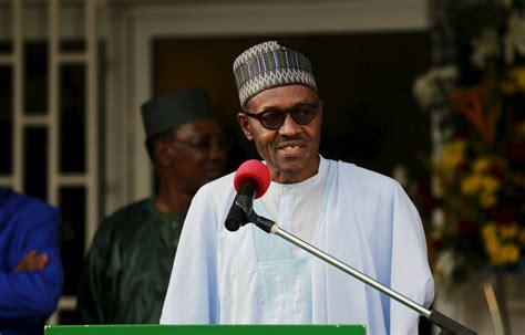 nigeria president muhammadu buhari sets  anti