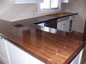 Walnut kitchen counters Appreciating Life Up North