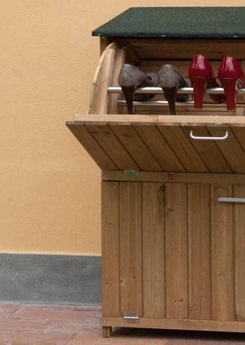 armadi per esterno in legno armadi per esterno
