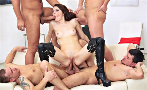 wallpaper young brunette pornactress leather overknee boots sexy shaved cunt abused
