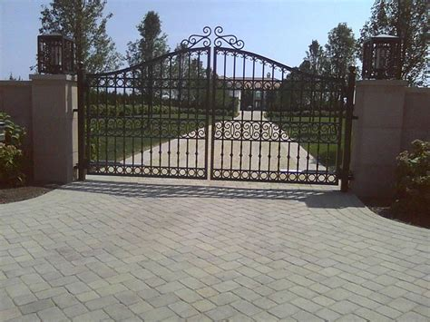 driveway gates aluminum driveway gates custom designed and fabricated specifically for your property