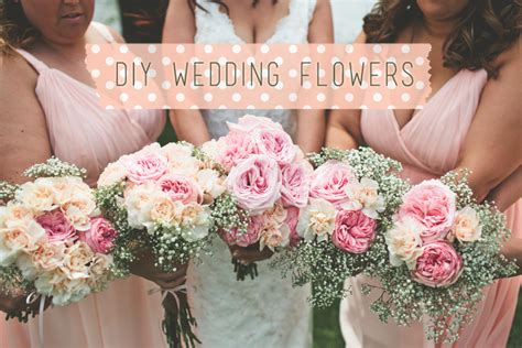 diy wedding flowers  love simple