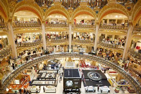 galerie lafayette opera escales shopping
