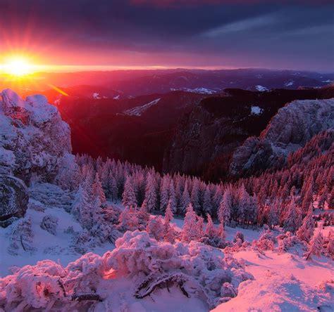 Winter Landscapes 4k Wallpaper