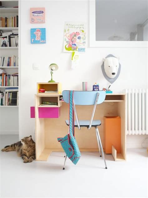 chambre adulte petit espace amenagement chambre enfant coin bureau enfant