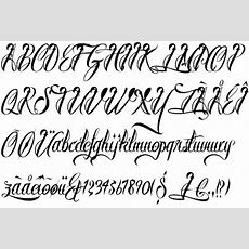 10 Awesome Tattoo Fonts For Your Next Piece Of Art  Formink Regarding Tattoo Lettering Fonts