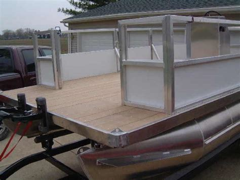 vinyl pontoon fence paneling design ideas pontoon