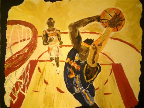 famous basketball paintings