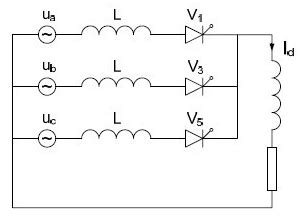 test l circuit calculation of the effect of rectifier transformer