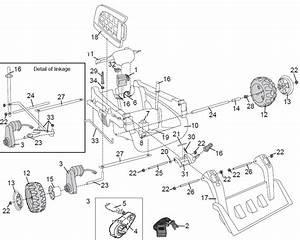 Power Wheels Cat Tough Loader Parts