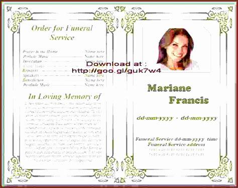 free funeral program template microsoft word 9 free funeral program template sletemplatess sletemplatess