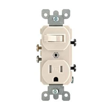 Leviton Amp Tamper Resistant Combination Switch Outlet