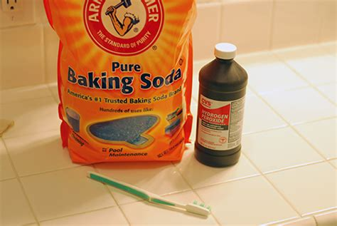 Cleaning Grout Naturally + Magic Tub Cleaner