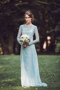 pale blue wedding dresses katya katya shehurina dresscab With blue dress for wedding
