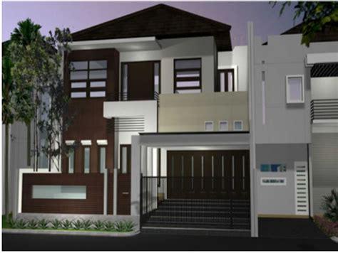 rumah minimalis bertingkat  lantai  desain terbaru