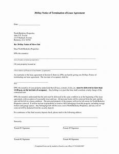30 day notice to vacate letter to tenant template best With 30 day rental notice template