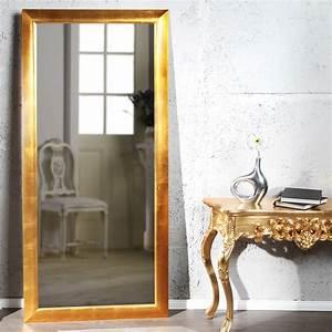 Großer Spiegel Silber : gro er spiegel eleganza wandspiegel 190 x 90 cm gold ebay ~ Indierocktalk.com Haus und Dekorationen