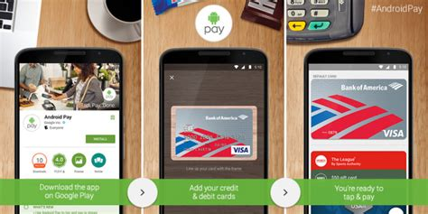 android pay will soon let you withdraw at atms using bank of america talkandroid