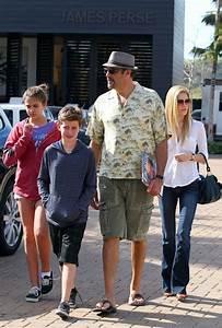 Isabella Quella in Brad Garrett and Family Out in Malibu ...
