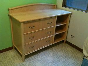 Recent projects: changing table/dresser and baby bed – New