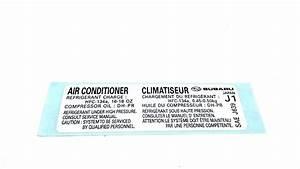 2014 Subaru Forester Label