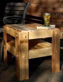 sofa diy mesinha de canto feita pallets de madeira palletsclub