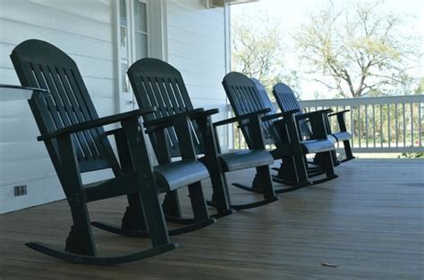 rocking chairs on the front porch picture of bernadette