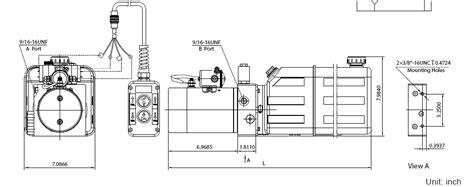 Hydraulic Dump Trailer Wiring Diagram by Dlh Fluid Power Inc Dump Trailer Power Unit Acting