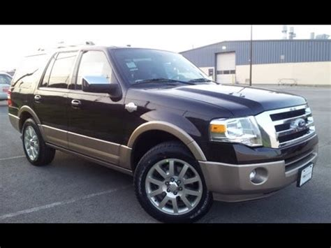 Expedition E6658m Brown 2013 ford expedition king ranch kodiak brown metallic 5 4