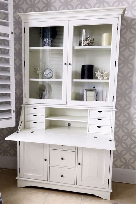 Pottery Barn White Desk With Hutch by Best 25 Desk With Hutch Ideas On