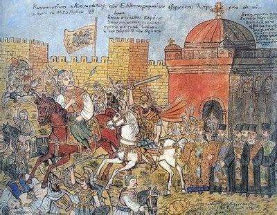 the siege of constantinople what caused mehmed ii to lead the ottomans to conquer