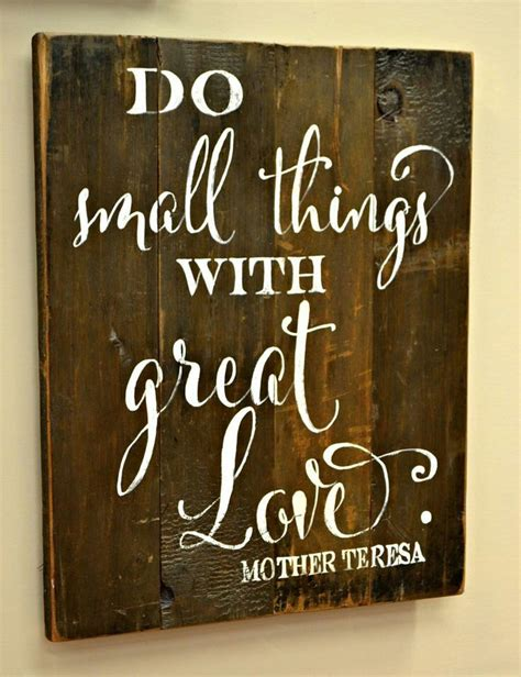 small   great love quotes sayings wood