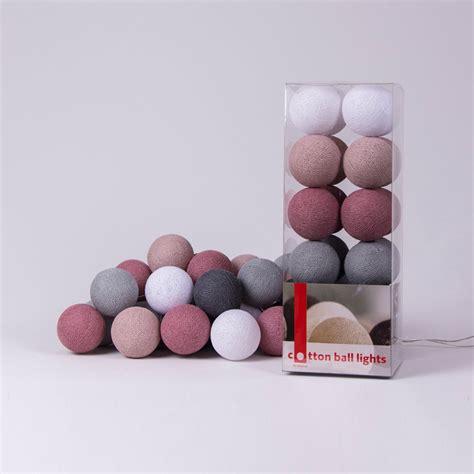 lichterkette cotton lights - Cotton Balls Lichterkette