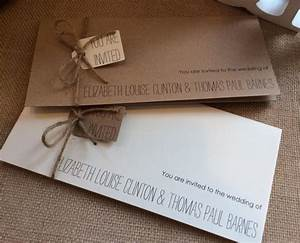 vintage rustic wedding invitation with rsvp and With handmade rustic wedding invitations uk