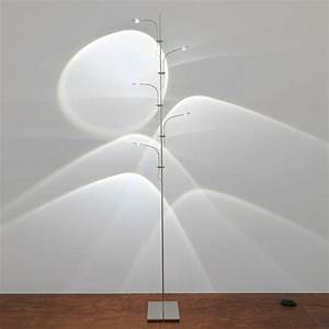 Catellani smith wa wa terra led floor lamp with dimmer for White floor lamp with dimmer