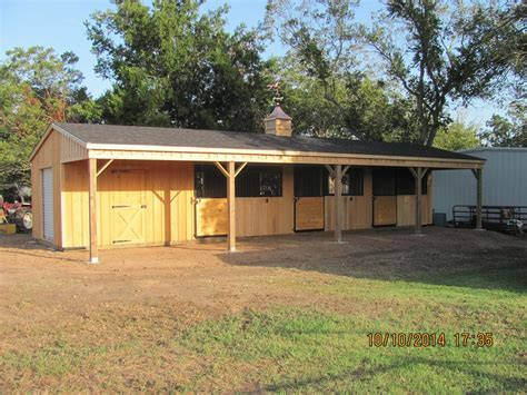 Shedrow Barn Plans Free