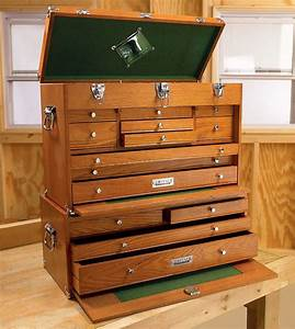 Wooden Tool Box Chest Wood Would be nice to sort and