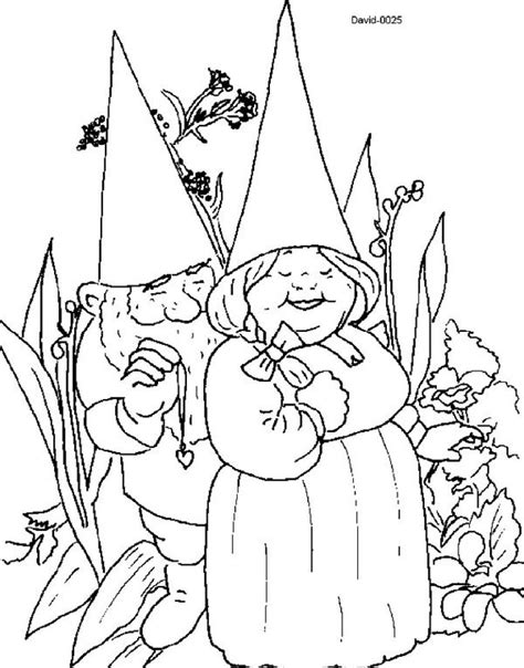 Kleurplaat Rien Poortvieg by David The Gnome Coloring Page Waht I David The