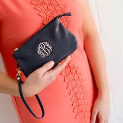 monogrammed wristlet 17 with free shipping halfoffdeals