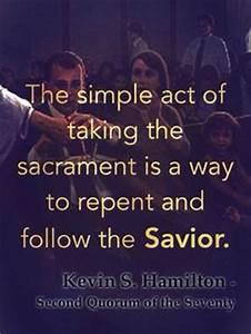 Sacrament Lds Q... Sacrament Quotes