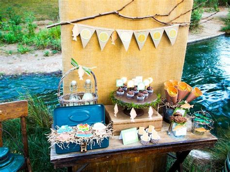 Kara's Party Ideas Gone Fishing Boy Themed Party Planning
