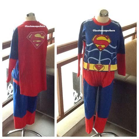 baju kaos kostum anak karakter superhero