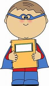 Clip Art Superhero Reader - ClipArt Best
