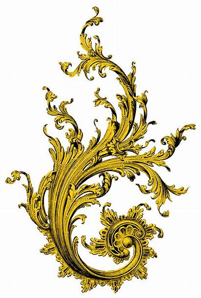 Baroque Clipart Transparent Ornament Textile Pattern Frame