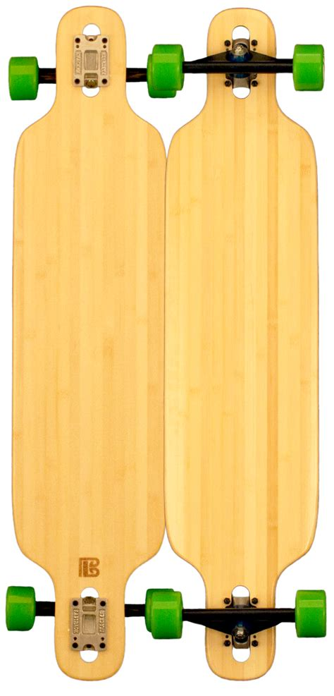 Blank Longboard Decks Drop Through by Bamboo Tip Drop Through Blank Skateboard