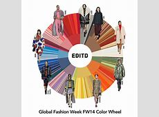 EDITD's color wheel reveals top global color trends for