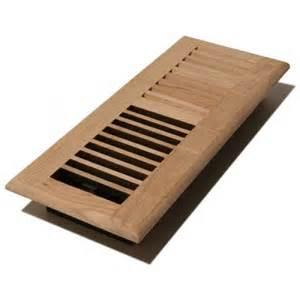 unfinished oak wood floor vent 100x300mm floor vents