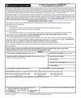 Photos of Disability Insurance Claim Form